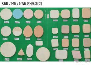 SBR/NR/NBR Powder Puff